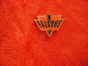 Atlanta Falcons Spike Logo Pin NFL