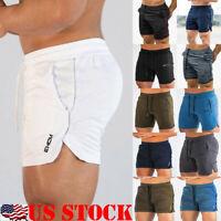 US Stock Men's Casual Short Pants Gym Fitness jogging Running Sport Wear Shorts