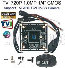 "Tvi Hd 720P 1.0mp 1/4"" Tvi/Ahd/Cvi and Cvbs Cctv Board Camera O.S.D Menu+Ir-Cut"