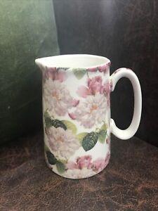 "Heron Cross Pottery - Country Rose Milk Jug 4.5"""