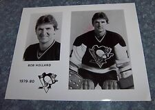 Pittsburgh Penguins Hockey Player photo 1979 - 1980 Bob Holland