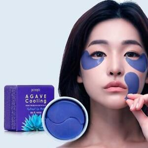 PETITFEE AGAVE COOLING Hydrogel Eye Patch Mask 60pc Korea made **UK STOCK**
