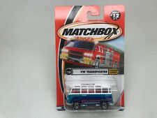 MATCHBOX-VW TRANSPORTER(BUS)-HIGHWAY HEROES-#12 OF 75-SEALED ON CARD