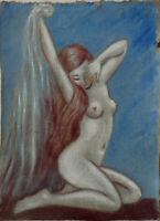 Femme nue  vers 1925/1930 signé A.Gruss