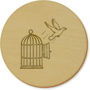 'Bird Escaping Cage' Coaster Sets / Placemats (CR030853)