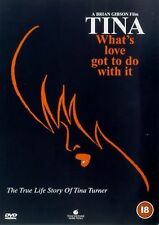 TINA TURNER  WHAT'S LOVE GOT TO DO WITH IT  Angela, Tina Turner NEW UK R2 DVD