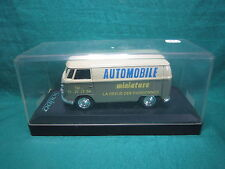 DV6437 SOLIDO V.W COMBI PROMOTIONNEL AUTOMOBILE MINIATURE PUB  1/43 NB