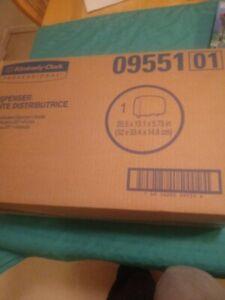 Kimberly-Clark 09551 Professional Cored JRT Bathroom Tissue Dispenser