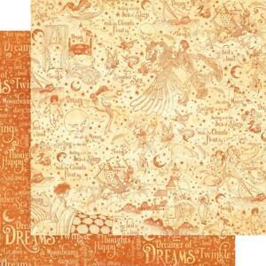 "Graphic 45 Dreamland - SLUMBER SEA 12x12"" D/sided Scrapbooking Paper"