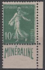 """FRANCE STAMP YVERT 188 A """" SOWER 10c GREEN LABEL MINERALINE """" MNH VVF K710"""