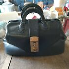 VINTAGE LEATHER DRs MEDICAL BAG--PREOWNED--KOOL OLD LOOK TO IT--MADE BY PCI
