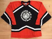 Game Worn Hockey Jersey From Douglas Tigers High School. K1. XL.