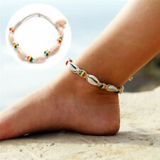 Boho Handmade Shell Beads Anklet Beach Sea Sandal Bracelet Foot Ankle JewelryLD