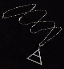 30 Seconds To Mars Triad Triángulo Plateado Collar Echelon Colgante Jared Leto Reino Unido *