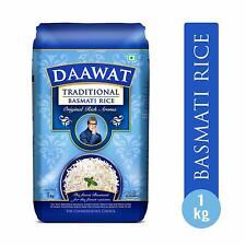 Daawat Traditional Basmati Rice, 1 kg (Free shipping world)