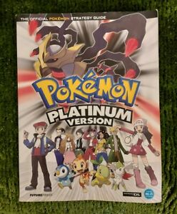 Pokemon Platinum Version Walkthrough Strategy Guide Nintendo 3DS DS Futurepress