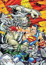 Doomsday Superman A3 Poster Print YF934