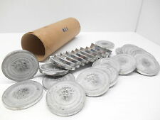 Tube Of 25 Blank 1-5/8� #24 Corporate Seals (Need Engraving)