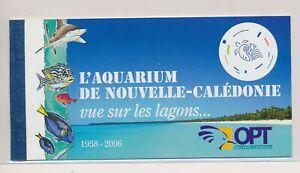 LO37842 New Caledonia fish shell coral sealife prestige booklet MNH