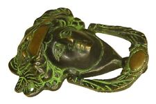 Roman Man Face Shape Door Knocker Antique Style Solid Brass Handcrafted Doorbell
