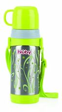 Nuby Borraccia Thermos con Bicchiere Grigio