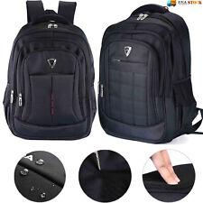 17 inch Laptop Backpack Waterproof Travel Outdoor Sports School Shoulder Bag US