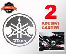 2 adesivi per copri Carter Yamaha TMAX T MAX 500 530 stickers decals