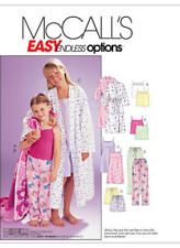 McCall's Sewing Pattern M6225 SZ 3-6 Children's/Girls' Robe Belt Tops Gown Pants