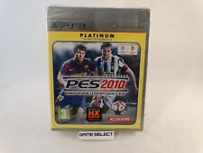 PES 2010 PRO EVOLUTION SOCCER 10 SONY PS3 PAL ITA ITALIANO NUOVO SIGILLATO