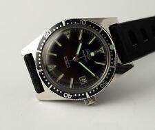 Montre ancienne de plongée Lacorda skin diver tout acier vintage automatic watch