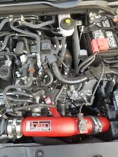Injen Performance Cold Air Intake System - Wrinkle Red 17-18 Civic Si 1.5L Turbo