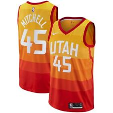 91e705955d9 Nike 2018-2019 NBA Utah Jazz Donovan Mitchell  45 City Edition Swingman  Jersey
