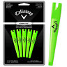 "CALLAWAY ETERNI TEES 3 1/4"" (83mm) - ULTRA STRONG GOLF TEES X 5 PACK / GREEN"
