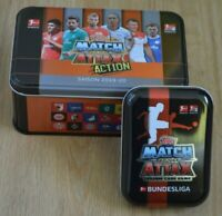 Topps Match Attax 19/20 Mini Tin + Match Attax Action Tin leer 2019/2020