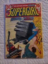 Vintage 1972 Dc Comics Supergirl #1 Bronze Age Comic Book