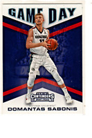 Domantas Sabonis 2016-17 Panini Contenders GAME DAY Rookie Card RC Pacers