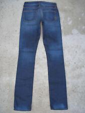 Rich & Skinny Jeans Slim Skinny Straight Sz 24 Distressed w Stretch Sz 25 Fit
