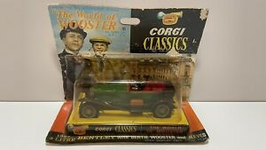 CORGI CLASSICS 9004 THE WORLD OF WOOSTER 1927 3 LTR BENTLEY WITH JEEVES