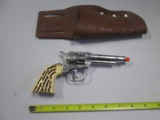 Vintage 7 inch Revolver with holster