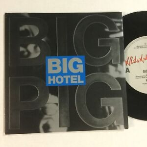 """Big Pig, Big Hotel EXc 1988 Picture Cover 7"""" Record"""