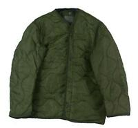 U.S. MILITARY M65 FIELD JACKET COAT LINER Used M-65 quilted OD, Size Medium