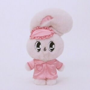 Esther Bunny Good Night Plush doll 32cm Esther loves you Pink Rabbit with Pouch