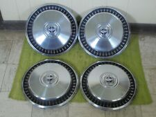 "76-91 Ford 1/2 ton Pickup Truck F100 F150 Hub Caps 15"" Set of 4 Hubcaps"