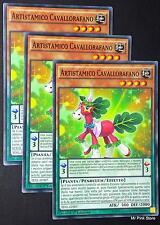 Set 3X ARTISTAMICO CAVALLORAFANO TDIL-IT007 Comune Pendulum in Italiano YUGIOH