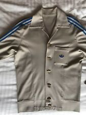 Vintage genuine collectible early Adidas 1970s Mens fitted Sport Track Top