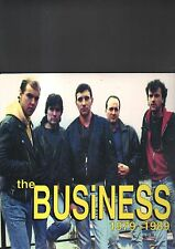 THE BUSINESS - 1979 - 1989 LP red vinyl