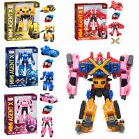 5 Styles Miniforce X Lucybot Lucy Bot Ranger Transformer Machine Car Robot Toy