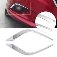 Front Fog Light Lamp Eyebrow Cover Trim Chrome For Mazda 6 Atenza 2014-2016 2015
