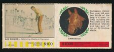 1968 American Oil Complete Panel -GAY BREWER (Golfer) & DAMASCUS (Horse Racing)