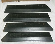 Set Of 4 New Nos Fomoco Razor Sharp Ford Plow Shares For Ford Economy Plows